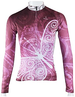 PALADIN® Cycling Jersey Women's Long Sleeve Bike Breathable / Quick Dry Jersey / Tops 100% Polyester Stripe Spring / Summer / Fall/Autumn