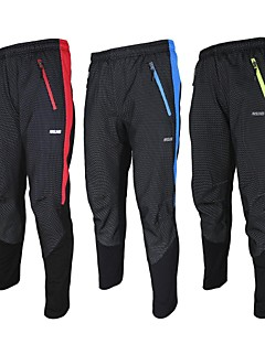 Arsuxeo Men's Cycling Pants / Bike Tights Fleece Warm Winter Thermal Bicycle Bottom