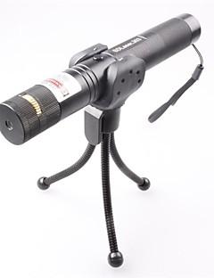 LT-0673 Lockable Muti-image  Adjustable  Match Burning  Green Laser Pointer (3MW,532nm,1x18650,Black)