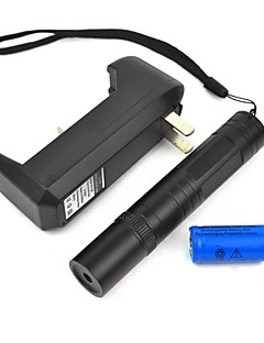 LT-850 Adjustable Focus Burning Lighter Cutting Green Laser Pointer Kits(2mw,532nm,1xCR16340)