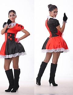 Cosplay Costumes Angel/Devil / Burlesque/Clown Festival/Holiday Halloween Costumes Dress / T-Back / Headwear Halloween / Carnival Female