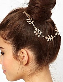 Joker Golden Leaves Comb Hair Accessories