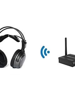HDCD 2.4ghz auriculares inalámbricos para las discotecas slient (con un transmisor de escritorio) tp-whb01