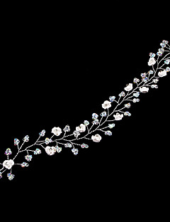 Women's Alloy Resin Headpiece-Wedding Special Occasion Headbands Head Chain