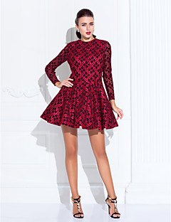 TS Couture® Cocktail Party / Holiday / Prom Dress - Ruby Plus Sizes / Petite A-line / Princess Jewel Short/Mini Lace / Satin