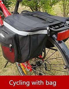 Mala para Bagageiro de Bicicleta/Alforje para Bicicleta / Capas de Mochila (Vermelho / Preto ,Nailom / Grade / Material á Prova-de-Água