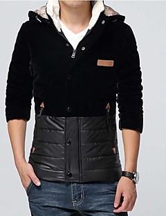 Skymoto® Men's Plus Size Patchwork Cotton Coat