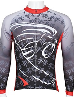 PALADIN® Cycling Jersey Men's Long Sleeve Bike Breathable / Quick Dry / Ultraviolet Resistant Tops 100% Polyester CartoonSpring / Summer