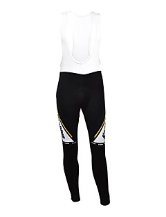 KOOPLUS® Cycling Bib Tights Women's / Men's / Unisex Breathable / Thermal / Warm / Waterproof Zipper / Wearable / Reflective Strips Bike