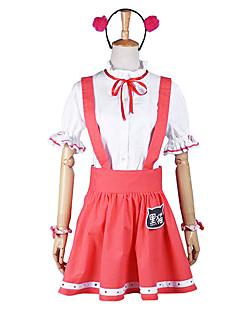 Ore no Imouto ga Konna ni Kawaii Wake ga Nai Ruri Goko punainen cosplay puku