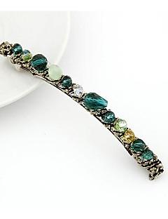 Exquisite Handmade Irregular Multi-element Crystal Hairpins