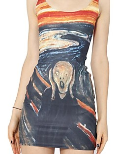 The Scream Skater Dress Night Club Uniform