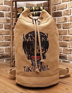 バッグ に触発さ 東京グール コスプレ アニメ系 コスプレアクセサリー バッグ ブラウン キャンバス 男性用
