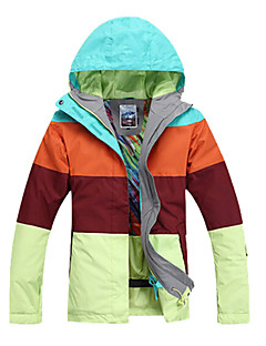 Women's Ski/Snowboard Jackets Skiing / Skating / Snowsports / Snowboarding Waterproof / Breathable / Wearable / Windproof / Thermal / Warm