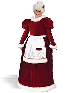 Christmas Old Lady Red Women's Christmas Costume