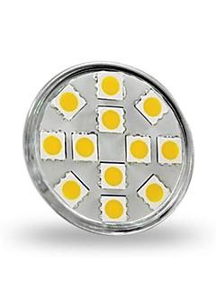 gu4 (MR11) 3w 12 cms 5050 300 lm chaud MR11 blanc projecteur LED décoratif dc 12 v
