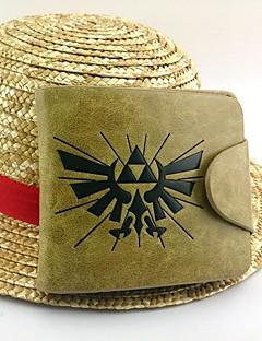 Taška Inspirovaný The Legend of Zelda Cosplay Anime a Videohry Cosplay Doplňky Taška Żółty Lakovaná kůže / PU kůže Pánský