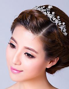 Women's Rhinestone Alloy Headpiece-Wedding Special Occasion Tiaras Headbands