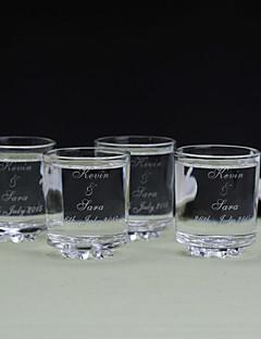 Eltern Geschenke-6 Stück / Set Trinkbecher Luxuriös / Klassisch Hochzeit / Jubliläum Glas individualisiert Trinkbecher Geschenkbox