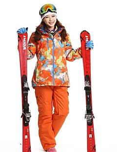 Extérieur Femme Ensemble de Vêtements/Tenus / Anorak 3 en 1 / Veste pour Femme / Veste d'HiverSki / Camping & Randonnée / Sports de neige