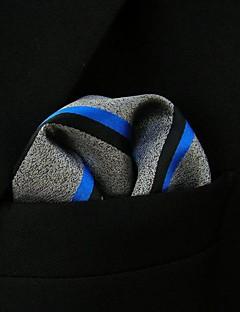 grises pañuelos de seda gris de la raya de los hombres de negocios
