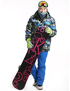 Men's 3-in-1 Jackets / Winter Jacket / Clothing Sets/Suits Skiing / Camping / Hiking / Snowsports / Downhill / Cross-CountryWaterproof /