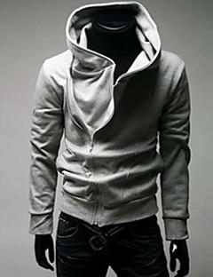 Informell Kapuzenshirt - Langarm - MEN - Pullover mit / ohne Mützen ( Baumwoll Mischung )