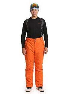 fashional spessi pantaloni sci impermeabili termici uomini