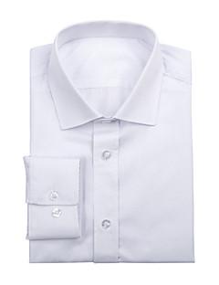 λευκό βαμβακερό πουκάμισο στερεά