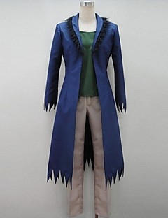 Inspired by Cosplay Cosplay Anime Cosplay Costumes Cosplay Suits Patchwork Blue 3/4-Length Sleeve Coat / T-shirt / Pants