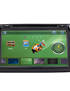 8-inch 2 Din TFT Screen In-Dash Car DVD Player For Volkswagen With BT,Navigation-Ready GPS,RDS,RL-521