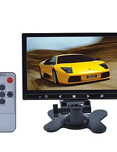 7 Inch Car TFT LCD Stand/Headrest Touch Button Monitor - Black
