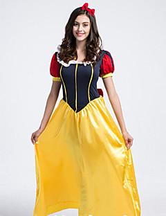 Luxurious Snow White Dress Adult Women's Halloween Costumefor Carnival