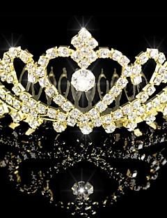 Dame Rhinestone/Krystall Headpiece Bryllup/Spesiell Leilighet Diademer Bryllup/Spesiell Leilighet