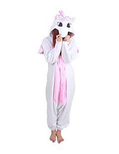 Kigurumi Pajamas Unicorn Leotard/Onesie Halloween Animal Sleepwear Pink Patchwork Polar Fleece Kigurumi UnisexHalloween / Christmas /