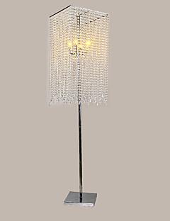 Crystal Floor Lamps , Modern/Comtemporary Metal