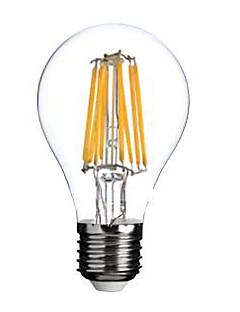 ON A60 E27 8W 8xCOB 800LM 2800-3000K  Warm White Light LED Filament Lamp (AC220V)