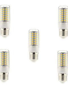15W E14 / G9 / E26/E27 LED-lampa T 69 SMD 5730 1500 lm Varmvit / Kallvit AC 220-240 V 5 st