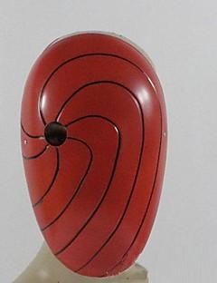 naruto akatsuki itachi uchiha rød&orange pvc cosplay maske