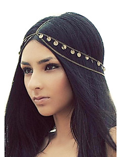 Shixin® European Tassels Golden Alloy Headbands For Women(1 Pc)