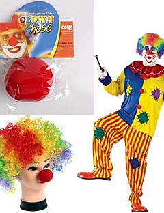 1PCS Red Sponge Clown Makeup Nose for Halloween Costume Party