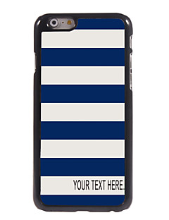 "Personalized Case Stripe Design Metal Case for iPhone 6 (4.7"")"