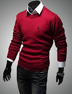 Men's The Deer Embroidery  Sweater