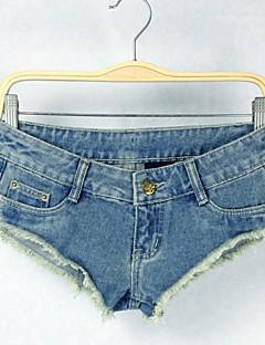 sagetech®women låga midja sexiga korta jeansbyxor