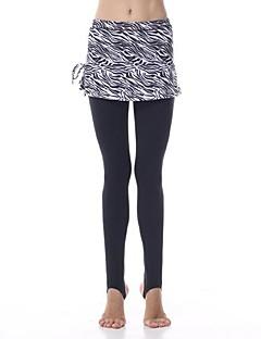 Yoga-Hose Hosen / Strumpfhosen / Leggins / Unten / Röcke & Kleider Vier-Wege-Stretch / Sicheres Tragegefühl / Abgegrenzte Kompression