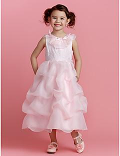 Flower Girl Dress - Poliester -Line Tea-długość