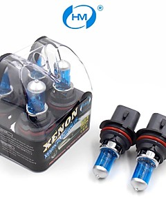 hm® plasma xenon 9007 12v 100 / 80w lampada alogena fari lampadine bianche (una coppia)