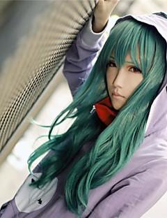 פאות קוספליי Kagerou פרויקט Saori Kido ירוק בינוני אנימה / משחקי וידאו פאות קוספליי 65 CM סיבים עמידים לחום נקבה