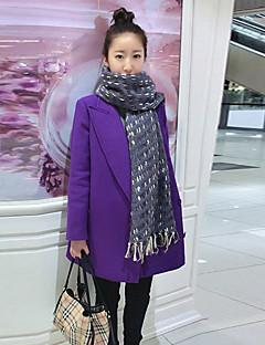 baibian 여성의 패션 캐주얼 옷깃 목 losoe 코트
