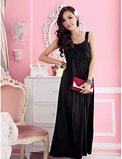 Holiday Lady Loose Fit Milk Silk Formal Dress